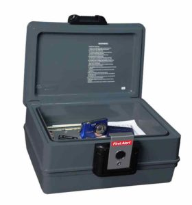 First Alert 2030F Fire and Water Safe Small